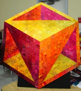 One of a series of boxes that Meredith Annett is creating.