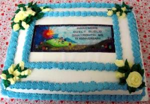 Every birthday celebration needs a cake
